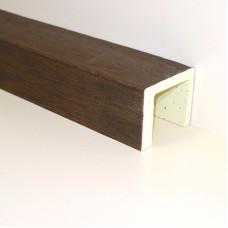 Декоративные балки из полиуретана под дерево — недорогая альтернатива деревянным балкам