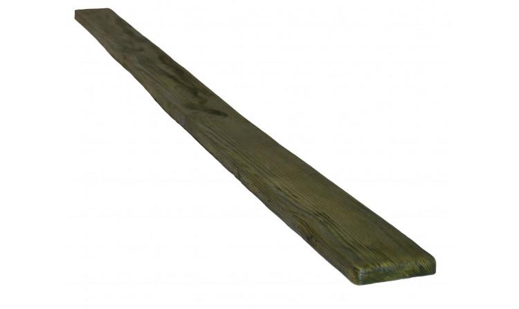 Декоративная доска 190х20 Decorawood для фасада (Рустик) Болотный дуб