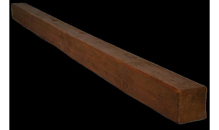 Декоративная балка Decorawood Фасад 70x70 Классика Дуб