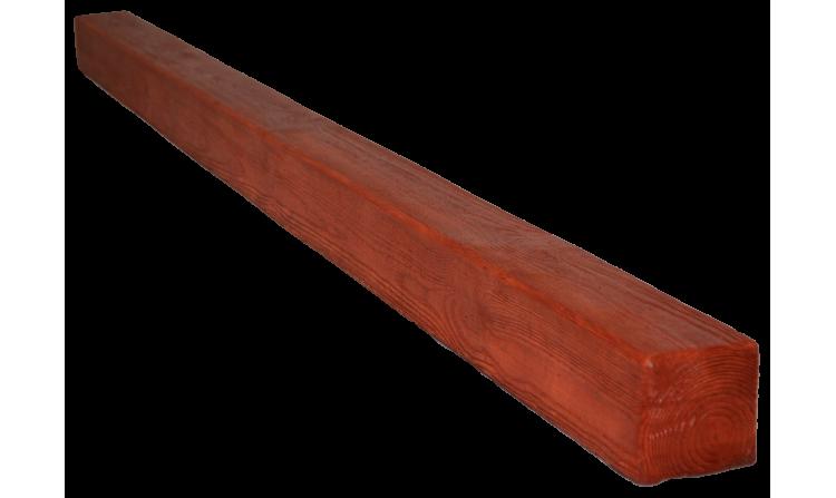 Декоративная балка Decorawood Фасад 70x70 Классика Рябина