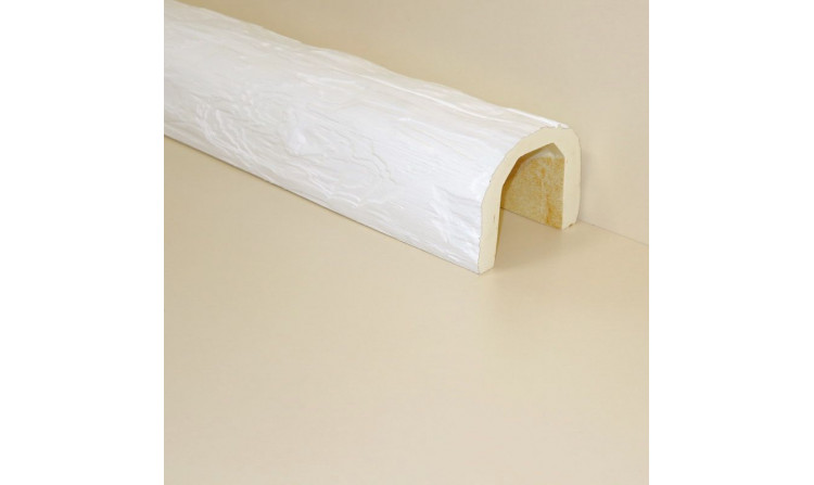 Декоративная балка под бревно 200x150 Белый