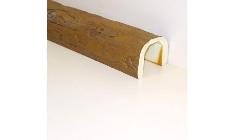 Декоративная балка под бревно 200x150 Дуб светлый