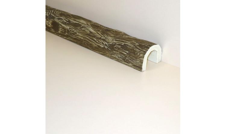 Декоративная балка под бревно 150x115 Кантри