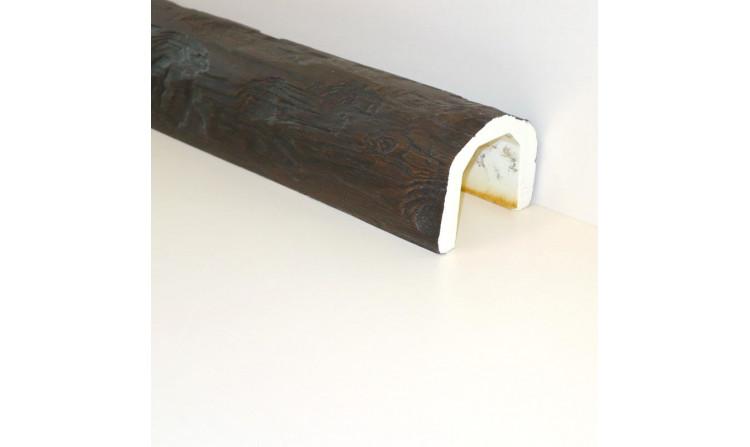 Декоративная балка под бревно 150x115 Мокка