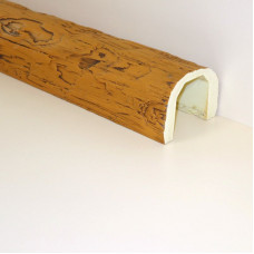 Балки из полиуретана под дерево – красивый и недорогой интерьерный декор