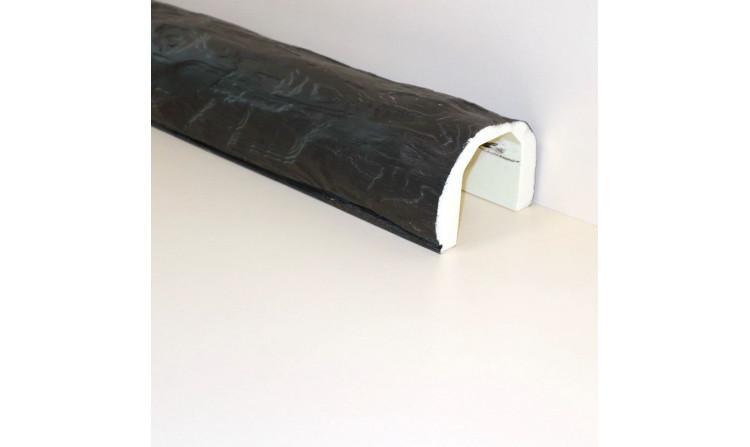 Декоративная балка под бревно 110x70 Венге