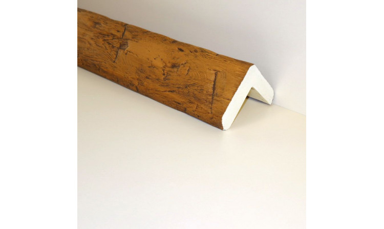 Угловая декоративная балка, 120х120 мм