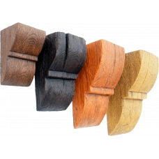 Консоли для балок 80x75x125 (Рустик)