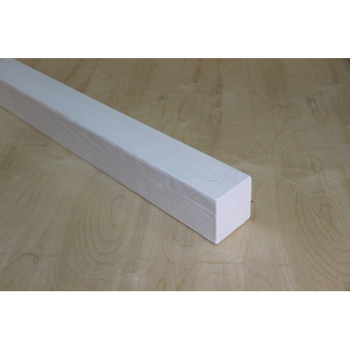 Декоративная балка 120x120 Классика Белый