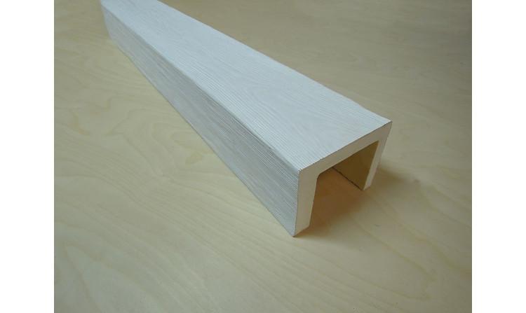 Декоративная балка 150x120 Классика Белый