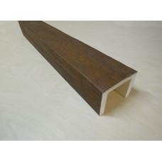Декоративная балка 150x120 Классика Дуб темный