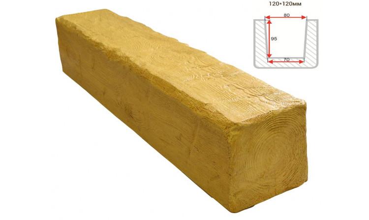 Декоративная балка Decorawood Фасад 120x120 Рустик Сосна