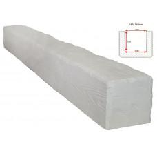 Декоративная балка Decorawood Фасад 145x145 Рустик Белый