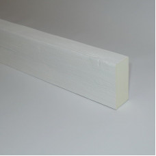 Декоративная балка 40x100 Классика Белый