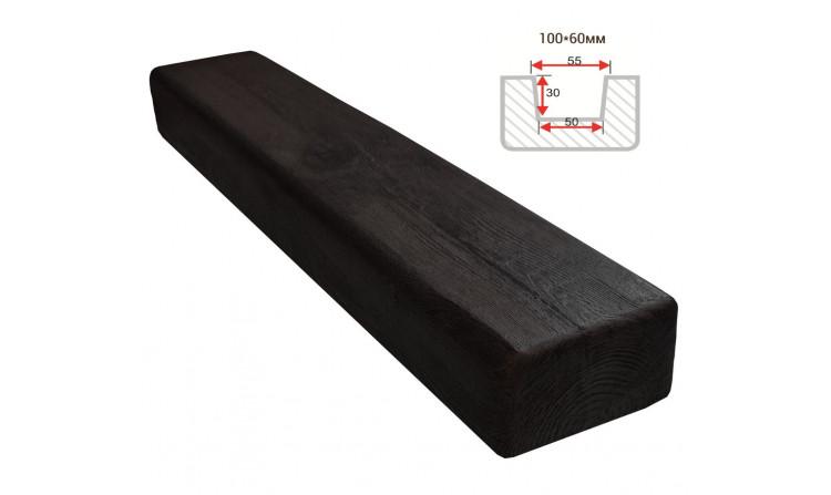 Декоративная балка Decorawood Фасад 100x60 Классика Венге