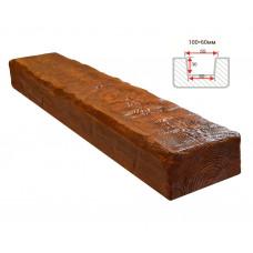 Декоративная балка Decorawood Фасад 100x60 Рустик Орех