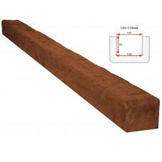 Декоративная балка Decorawood Фасад 145x120 Рустик Орех