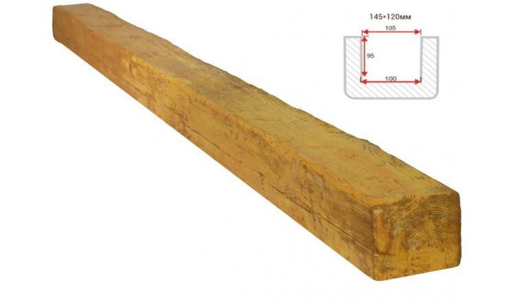 Декоративная балка Decorawood Фасад 145x120 Рустик Сосна