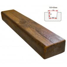 Декоративная балка Decorawood Фасад 100x60 Классика Фламбир