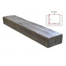 Декоративная балка Decorawood Фасад 195x130 Классика Пепел